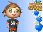 Animal Crossing New Leaf Wallpaper: Boy