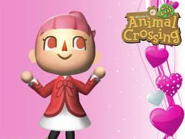 Animal Crossing New Leaf Wallpaper: Girl by RavenVillanuevaT2P