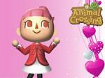 Animal Crossing New Leaf Wallpaper: Girl