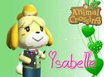 Animal Crossing New Leaf Wallpaper: Isabelle