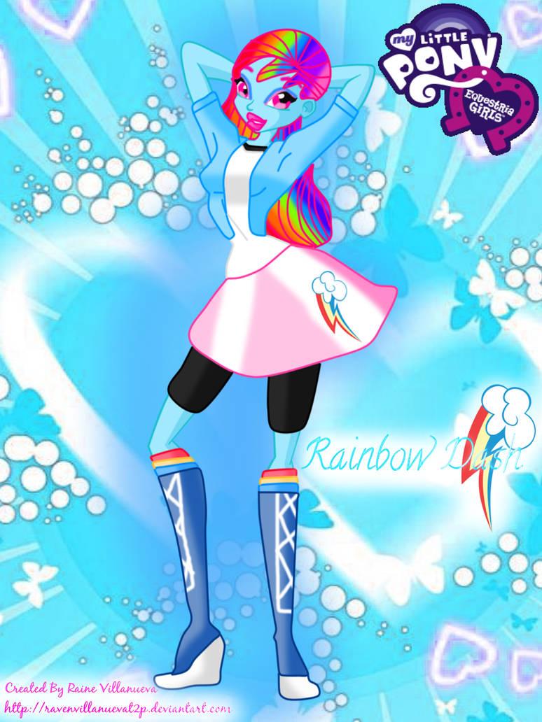My Little Pony: Equestria Girls-Rainbow Dash by ...