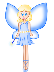 Rainbow Magic - Hannah the Happy Ever After Fairy by RavenVillanuevaT2P