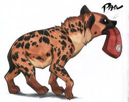 hyenafood by Pain-hyena