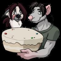 2016-01-28 Birthday Badge by Pain-hyena