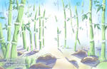 Bamboo Forest Sketch