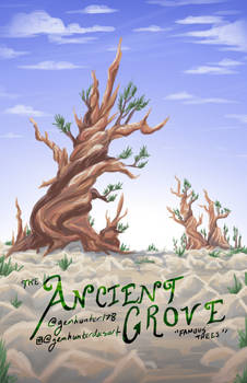 Famous Tree Posters - Ancient Grove/Bristlecone