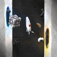 Portal 2 Fan Art!