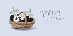Panda...in a basket!