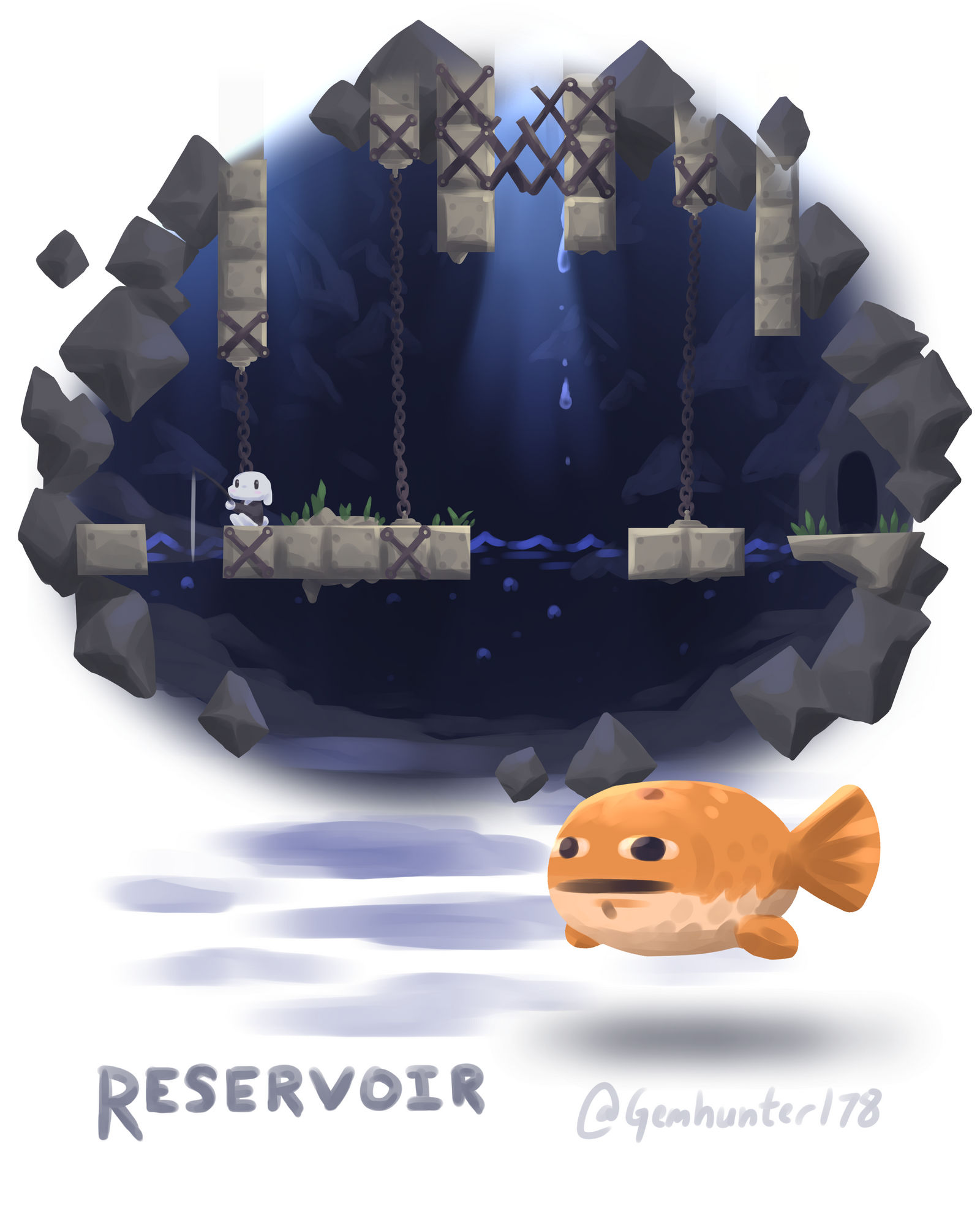 Cave Story - Reservoir