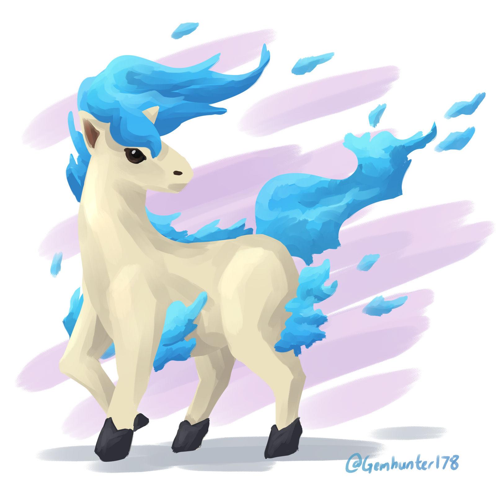 Shiny Ponyta