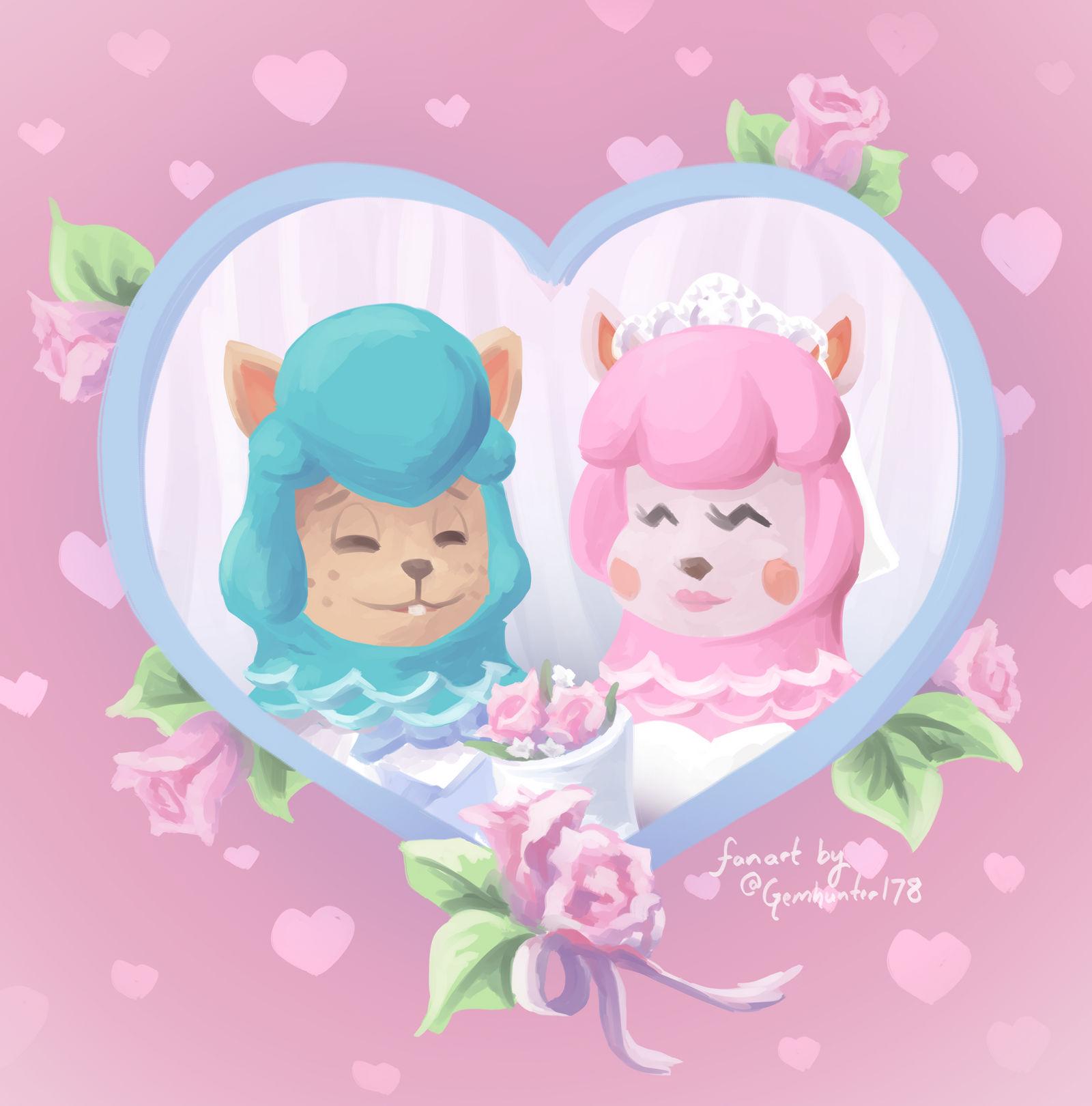 Animal Crossing Wedding Season!