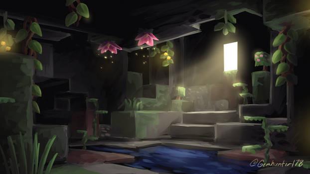 Minecraft Lush Cave