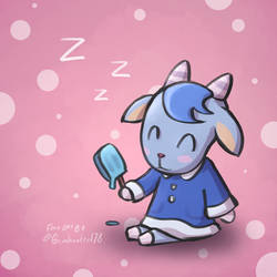 Animal Crossing Sherb!