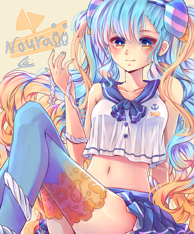 Marine Miku PSD File By Nouraii On DeviantArt