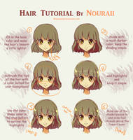 Hair Tutorial by Nouraii