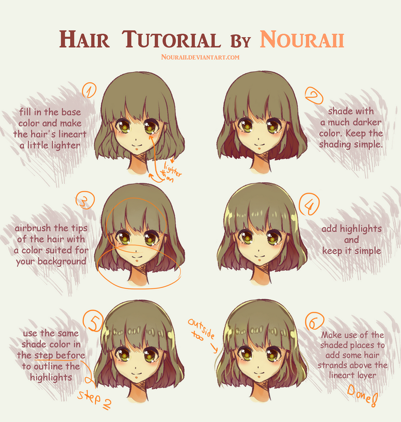 Frecklesordirt 187 7 Hair Tutorial By Nouraii