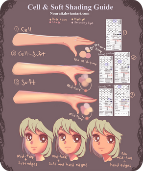 Soft and Cell Shading Guide - PSD File