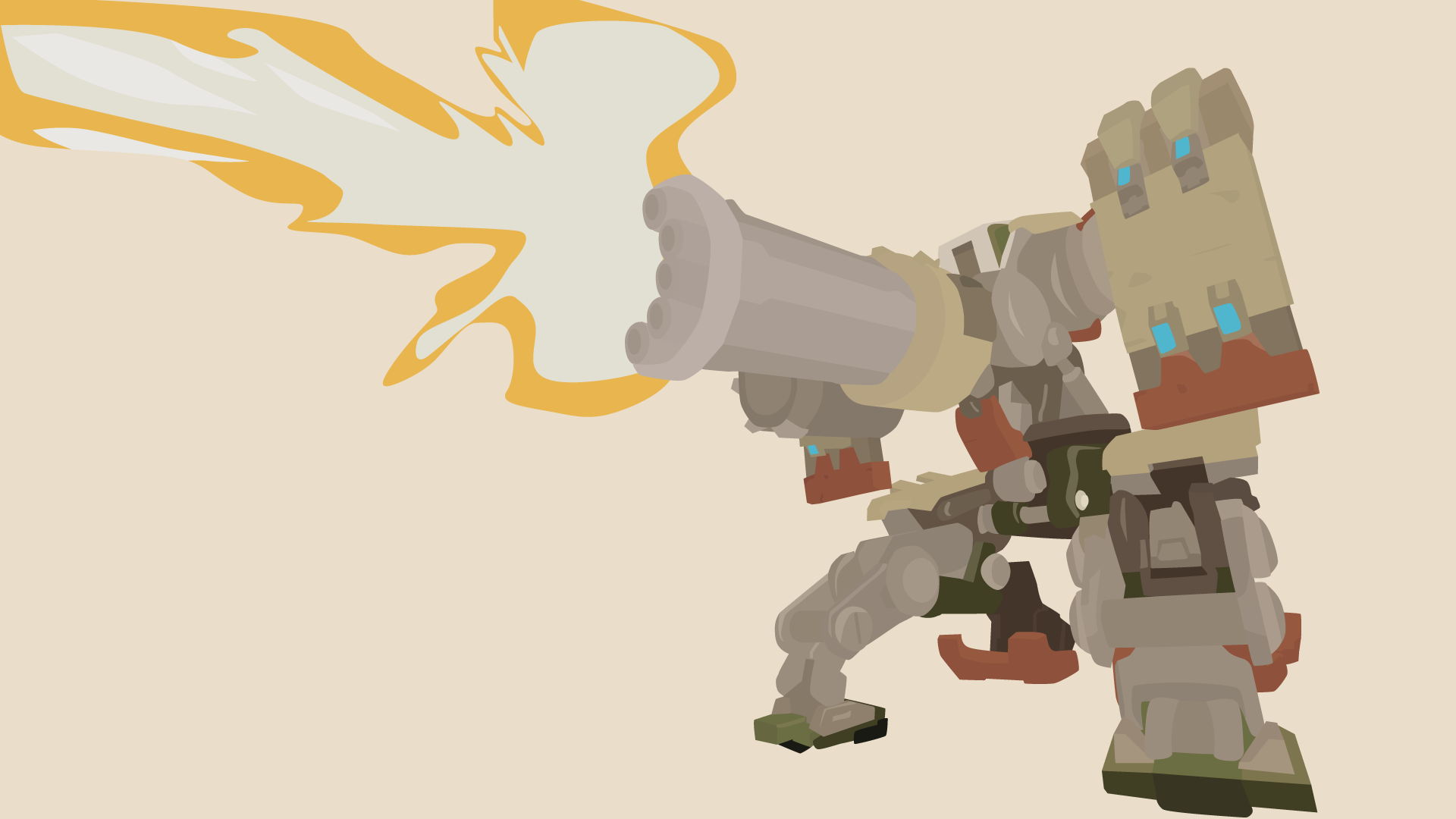 Bastion Vector Art Wallpaper by WalidSodki