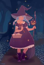 Halloween by yevonyasuko
