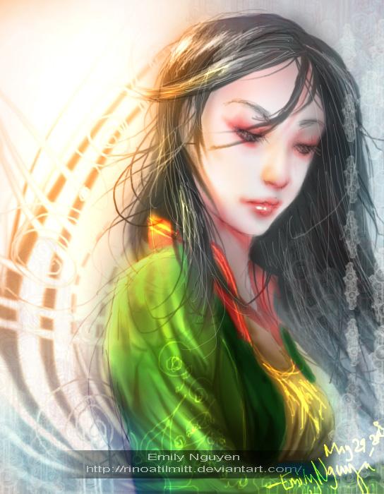 Mulan?? by emilynguyenart