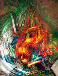 Running and Slashing - Kenshin by emilynguyenart