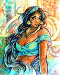 Jasmine Marker Sketch-up