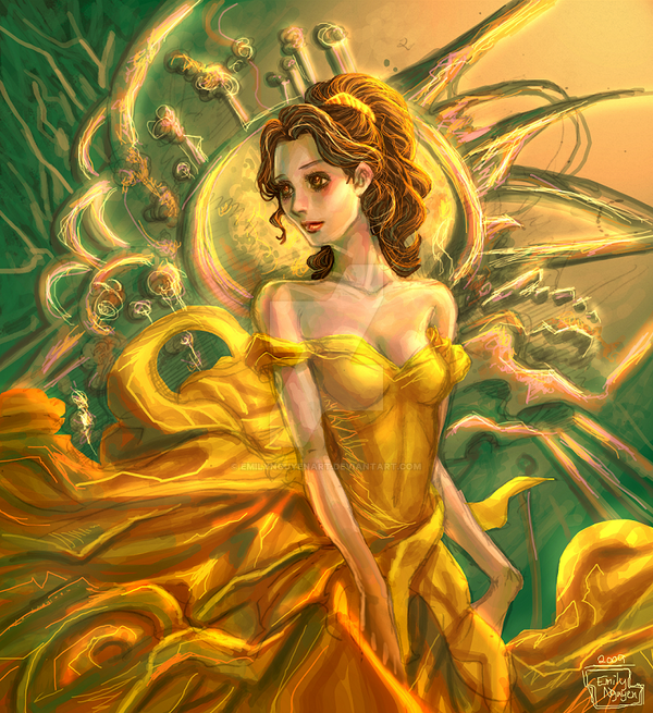 Belle -- Merge with the Flow by emilynguyenart