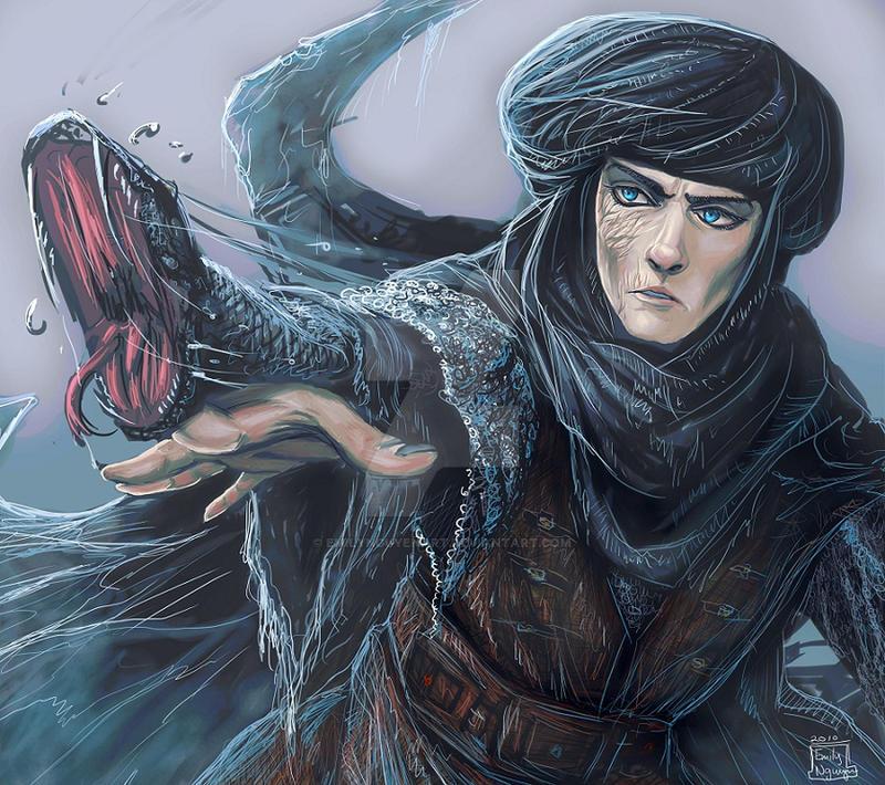 Zolm -- Prince of Persia by emilynguyenart