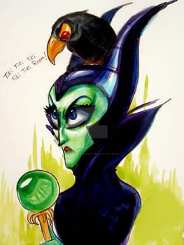 Maleficent and Diablo lololol