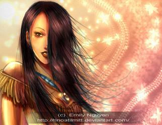 Pocahontas by emilynguyenart