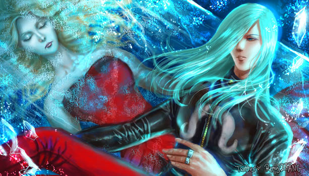 Remy and Sister -- Street Fighter 3 Third Strike by emilynguyenart