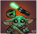 Baby Yoda's Baby Food