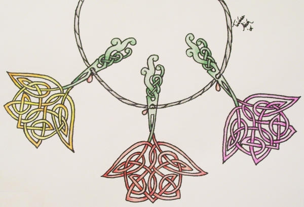 Celtic Sister Roses by Caoimhe-Aisling