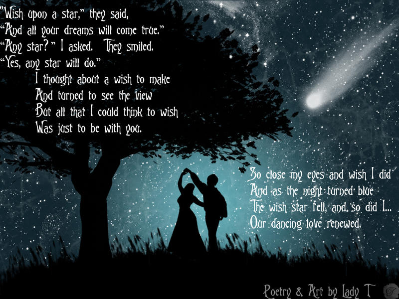 Wish Upon A Star poem by Caoimhe-Aisling on DeviantArt
