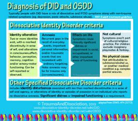 Dissociative Identity Disorder DDNOS infographic 4 by DIDisReal