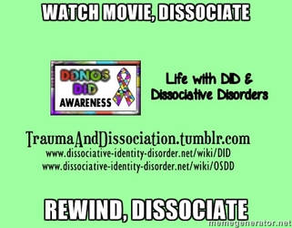 Life with Dissociative Identity Disorder by DIDisReal