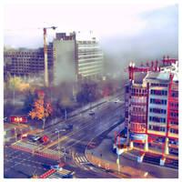 Misty morning. by Sandrita-87