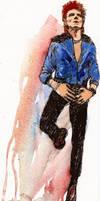 Bowie Ziggy Lookalike