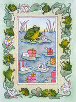 Frog birthday by Mad-Margaret