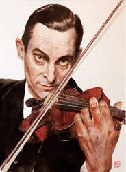 Jeremy Brett as Sherlock Holmes by Mad-Margaret