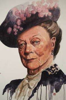 Maggie Smith as the Duchess of Grantham