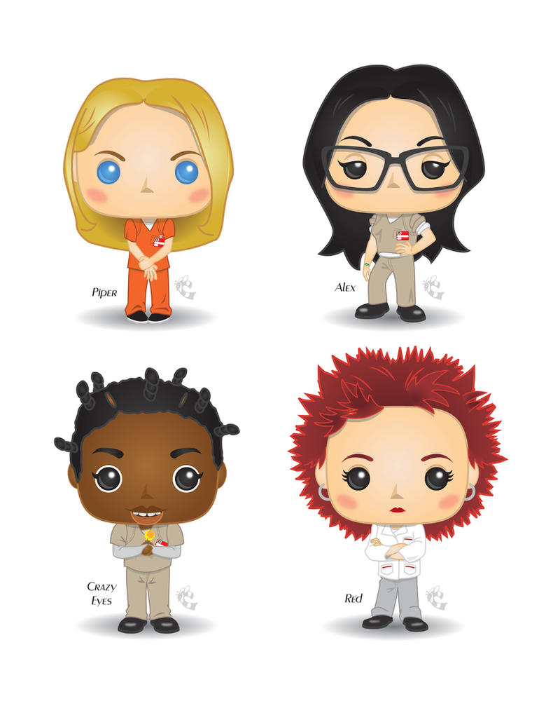 Funko Pop! - Orange is the New Black by CBeeProject