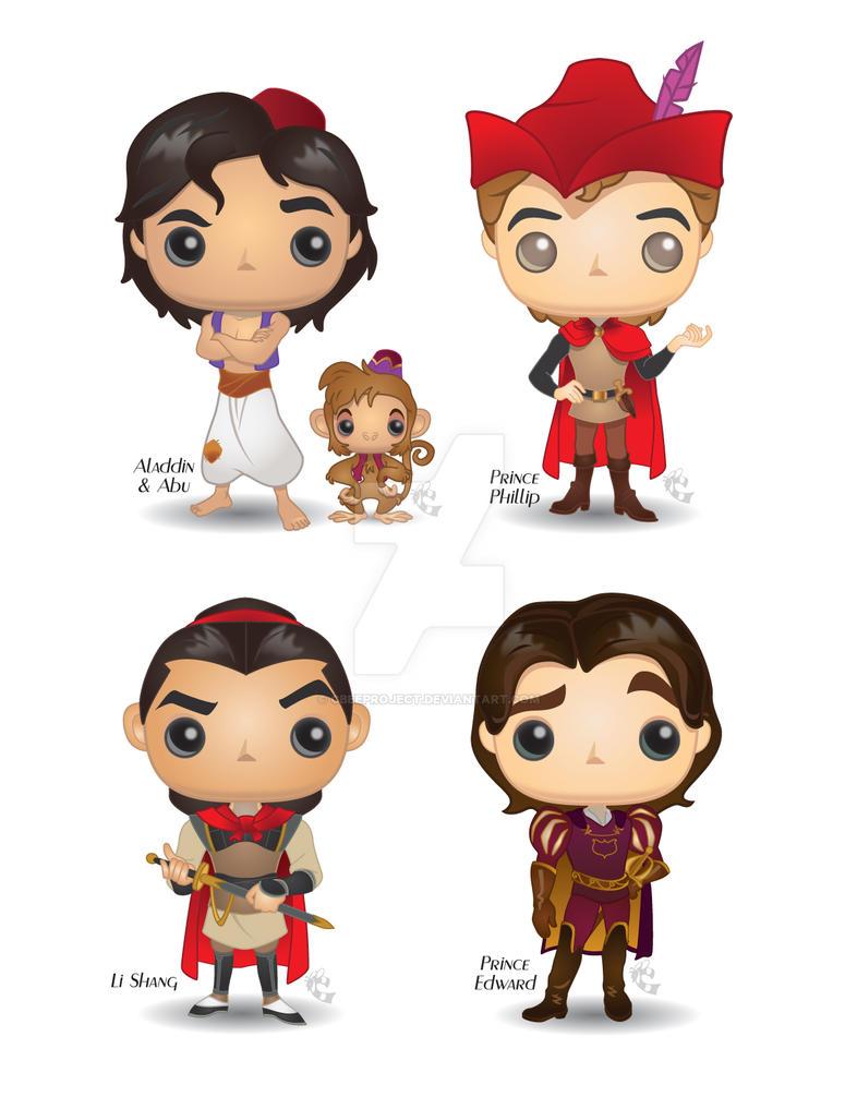 Pop! Disney Heroes by CBeeProject