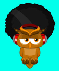 AfroOwl Logo by blazeg23