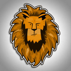Lion Icon by blazeg23