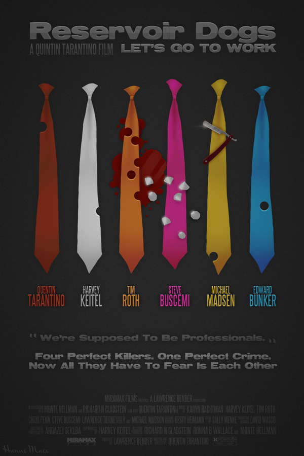 Reservoir Dogs alternate movie poster by maeshanne on ...