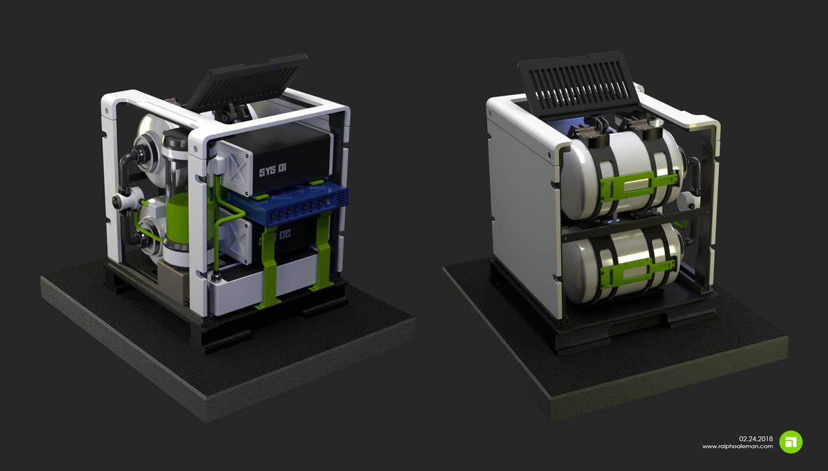 Futuristic Laboratory Computer by adapter on DeviantArt