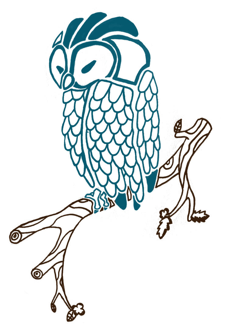 Owl Tattoo by zilfana