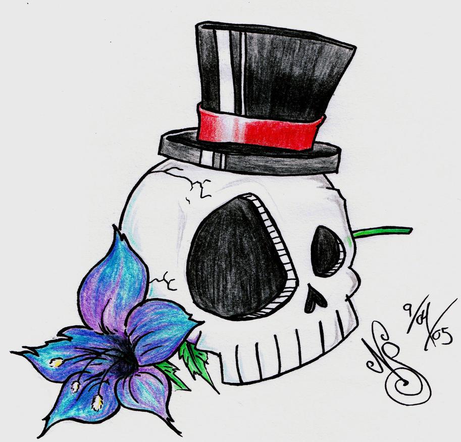 Dead Showmanship - flower tattoo