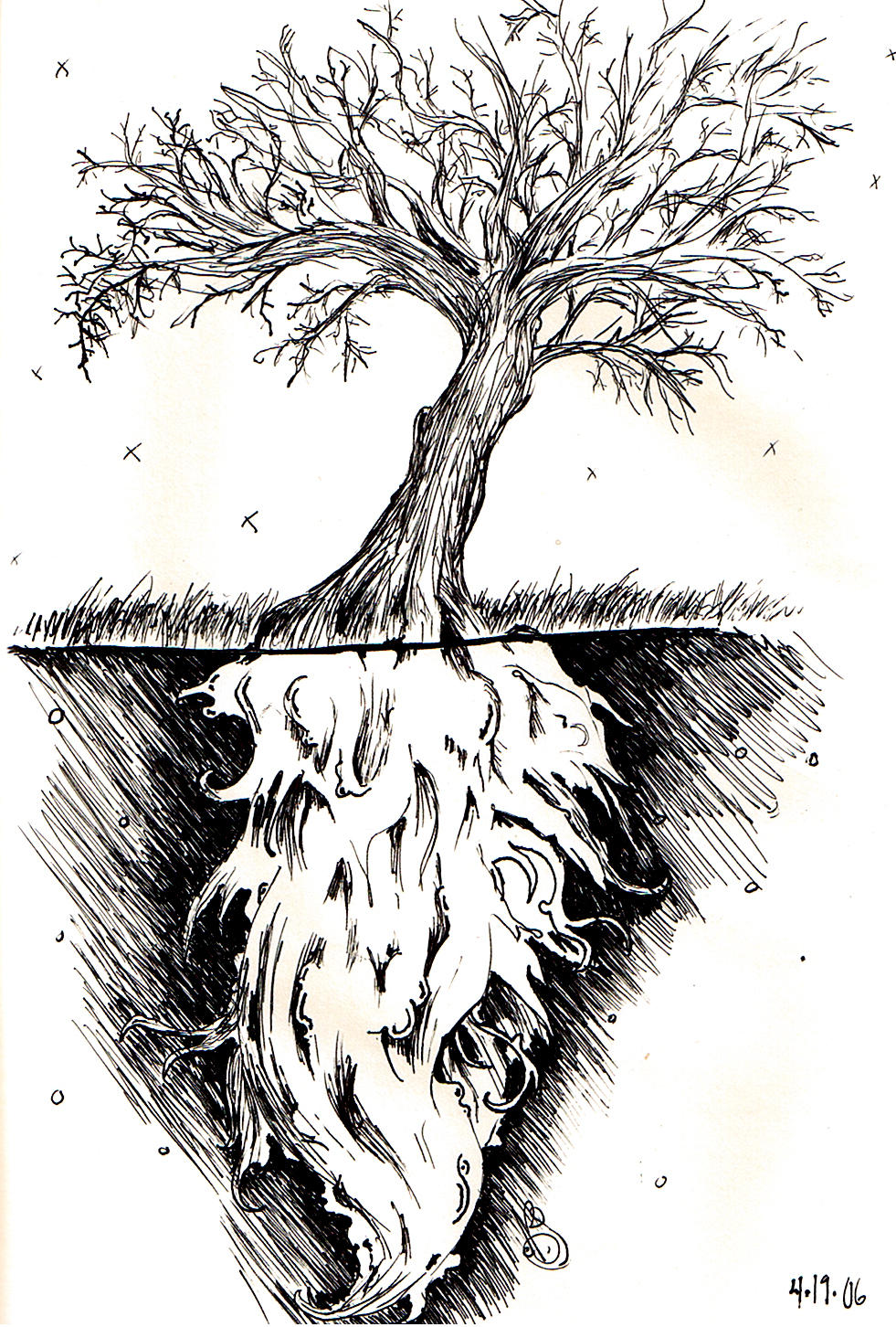 .:tree.roots:. by isnevertimeatall on DeviantArt